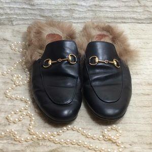 1c284e973fa Gucci Princetown genuine loafer leather size 38.5